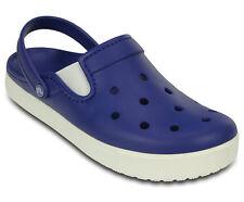 Crocs Unisex Adults Citilane Clogs Blue Cerulean Blue/White Slip On Flip Flop 10