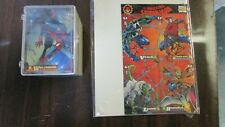 1994 Fleer Amazing Spider-Man Trading Card Complete Set w/ All Chase Sets, Promo