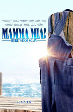 MAMMA MIA! HERE WE GO AGAIN MOVIE POSTER 2 Sided ORIGINAL ADV 27x40 LILY JAMES