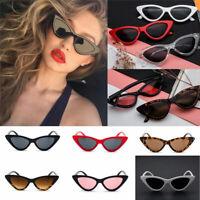 New Women Vintage Cat Eye Frame Sunglasses Retro Designer Fashion Shades Eyewear