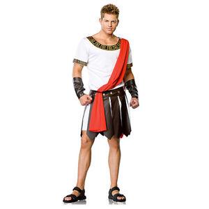 Julius Caesar Roman Emperor Toga Gladiator Mens Halloween Stag Fancy Costume