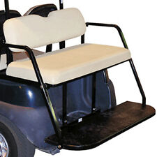 Clearance Item - EZGO Golf Cart Stationary White Rear Seat Kit for RXV