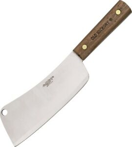 NEW Ontario Knives Old Hickory 76-7 inch Cleaver