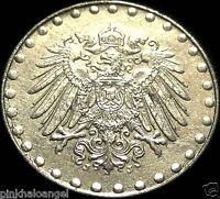 German Empire 1916J 10 Pfennig Coin 103 years old