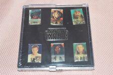 Star Wars Episode 1 6-Pins-Set (Steckanhänger), Anakin, Maul, Obi Wan NOS/k4