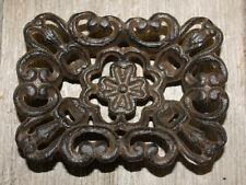 Cast Iron Antique Victorian Style SOAP DISH Rustic Ranch Kitchen Bathroom Decor