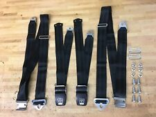 RESTORED 3 POINT LD3 SHOULDER AND LAP KANGOL SEAT BELTS FOR MERCEDES