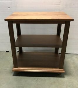 "Walnut Island/Table with Shelf - L=36"" X W=24"" X H=40.25"" - Brand New!"