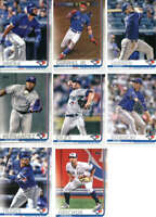 2019 Topps Series 1 Baseball Toronto Blue Jays Team Set of 12 Cards