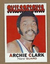 1971-72 TOPPS ARCHIE CLARK BASKETBALL CARD #106 NR MINT FREE SHIPPING