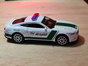 WELLY MUSTANG DUBAI POLICE CAR UNBOXED NEW