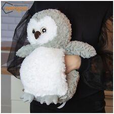 Cuddy Me Large Cosy Plush Soft Cuddly Toy Teddy Giant Hand Warmer Muff- Grey Owl