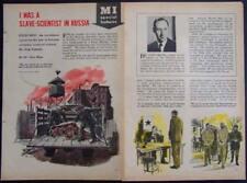 German Slave Scientist Otto Maar Behind Iron Curtian