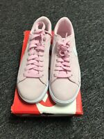 NIKE BLAZER LOW SD Womens Suede Sneakers AV9373 600 PINK FOAM / WHITE  7.5