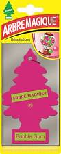 Little Tree Fresh Scented Hanging Air Freshener for Car & Home - Pink Bubblegum