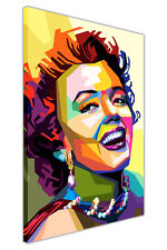 COLOURFUL POP ART MARILYN MONROE WALL ART CANVAS PICTURES HOME DECORATION PRINT