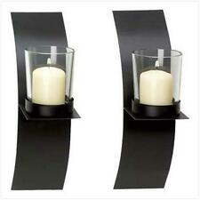 NEW Zingz & Thingz Modern Art Candle Holder Wall Sconce Plaque