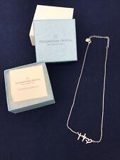 Swarovski Crystal Faith Hope Love Necklace Brand New In Box