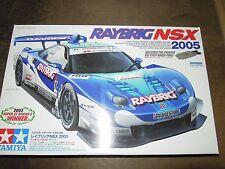 TAMIYA 1/24 Honda RayBrig NSX 2005 MODELLO AUTO KIT #24286 W DIE-CAST sotto Pannello