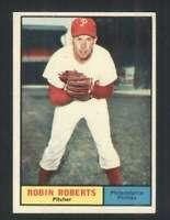 1961 Topps #20 Robin Roberts NM/NM+ Phillies 123205