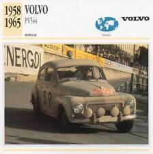 1958-1965 VOLVO PV544 Classic Car Photograph / Information Maxi Card