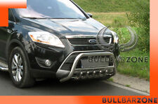 FORD KUGA I 2008-2012 TUBO PROTEZIONE MEDIUM BULL BAR INOX STAINLESS STEEL