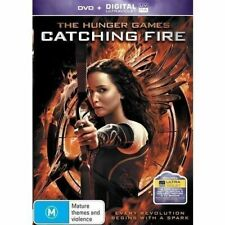 The Hunger Games Catching Fire Jennifer Lawrence PAL DVD R4 VGC