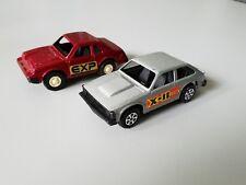 Tootsietoy X-11 Citation Car and EXP car