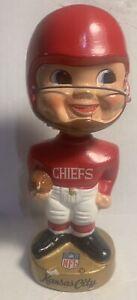 Vtg 1960s KANSAS CITY CHIEFS Bobble head NODDER Made In Japan