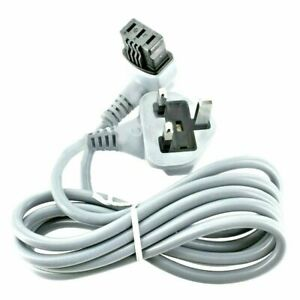 Power Supply Cord Cable 3-Pin UK Mains Plug 1.7m for BSH Bosch Neff Siemens
