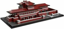 Lego 21010 Architecture Robie House Frank Lloyd Wright used 2 substitutue pieces