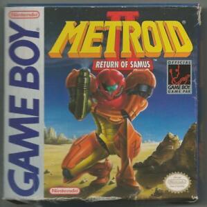 ORIGINAL Vintage 1991 Game Boy Metroid II Return of Samus CIB w/ Manual + Ads