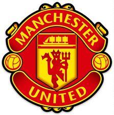 Manchester United Futbol Club (Soccer)(Football) Logo Type Die-Cut MAGNET