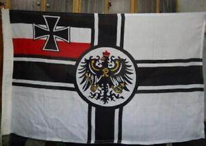 WW1 Imperial German flag Real Cotton 5 X 3 Feet Kaiser