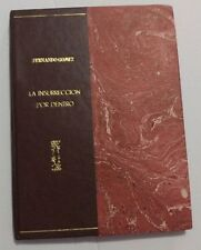"""1897 """"La Insurreccion Por Dentro"""" Fernando Gomez Cuba Independence War V. Weyler"""