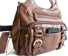 Dark Espresso Brown Concealed Carry Concealment Gun Purse Holster Included #21