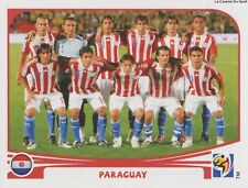 N°429 TEAM SQUADRA # PARAGUAY STICKER PANINI WORLD CUP SOUTH AFRICA 2010