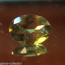 * Rare Vésuvianite taille ovale 0.70 ct 7.0 x 5.0 x 3.05 mm *