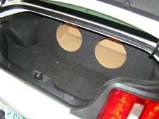 """2005-2014 Ford MUSTANG SUB BOX Subwoofer Box 2-10"""" (type 1)"""