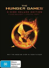 The Hunger Games : Blu-ray (4-Disc Deluxe Edition)