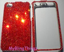 12ss FIRE OPAL Crystal Rhinestone Case for iPhone 5 5S made w/Swarovski Elements