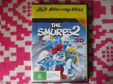 The Smurfs 2 in 3D Blu-Ray 3D 2 Disc