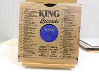 Wynonie Harris blues 78 Tremblin bw Just Like Two Drops Of Water  King