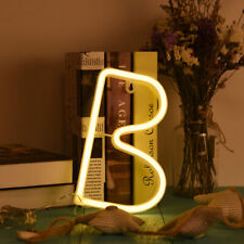 Led Neon Sign 26 Letters Light Arrow Of Love Neon Light Wall Word Shop Wedding