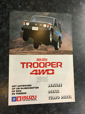 N20155 ISUZU TROOPER 4WD