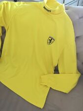 Ferrari XL Yellow Men Pullover Top U.K.