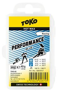 Toko PERFORMANCE RACING HOT WAX BLUE 40g 5501017