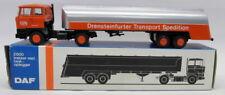 Lion Car 1/50 Scale - Nr.62 DAF Truck & Tanker Drensteinfurter DTS Model Truck
