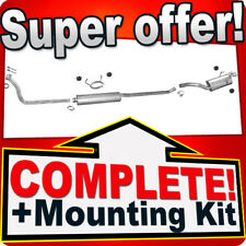 PEUGEOT EXPERT I 1.9 TD LWB-Long+Front Pipe Exhaust System T79B