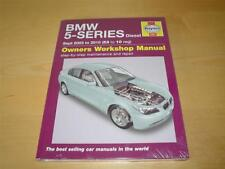 Haynes BMW 5 SERIES 03-10 520d 525d 530d M SPORT Owners Repair Handbook Manual